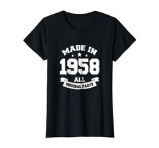 Brother Shirts - Age Shirt Made in 1958 60th Years Old 60 Birthday Gift ... - $19.95+