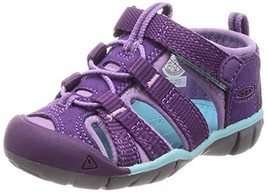 KEEN Baby Seacamp II CNX Water Shoe, Majesty/Tibetan Stone, 6 M US Toddler - $74.09