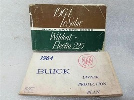 Buick Lesabre Wildcat Electra 1964 Owners Manual w/ Owners Protection Plan 14699 - $21.73