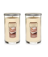 Lot of 2 Yankee Candle Gingerbread Maple Pillar Candle 12 oz each - $36.99