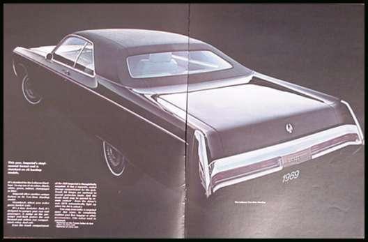 1969 Chrysler Imperial Prestige Brochure, LeBaron Crown 69