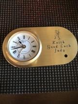 Vintage Personalized Elegance Quartz Clock - $25.00