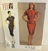 VOGUE PATTERNS Today's FIT By Sandra Betzina Pattern #V1045 OSZ Top & Skirt - $9.99