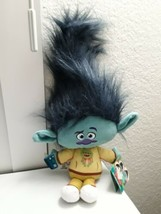 "2018 HASBRO~ DREAMWORKS~TROLLS~STYLIN' HAIR SERIES~BRANCH~17"" PLUSH DOLL... - $17.47"