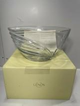 Lenox Crystal Bowl, Falling Star Design, 10.25 inches, original tag and box. - $34.60