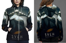 Hoodie Zipper womens Sven Rogue Knight - $46.70+