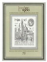 GB 1980 London Exhibition 50p unmounted mint mini / miniature sheet MNH ... - $1.21