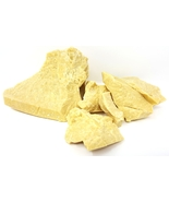 2 lb YELLOW PRIME PRESSED COCOA BUTTER Natural Unrefined RAW Natural Lot... - $18.95