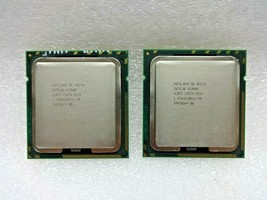Lot of (2) Matched Pair Intel Xeon X5570 Server CPUs 4-Core 8MB Cache SLBF3 - $14.99