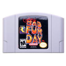 Nintendo N64 Video Game Cartridge Console Card Conker's Bad Fur Day Engl... - $25.10