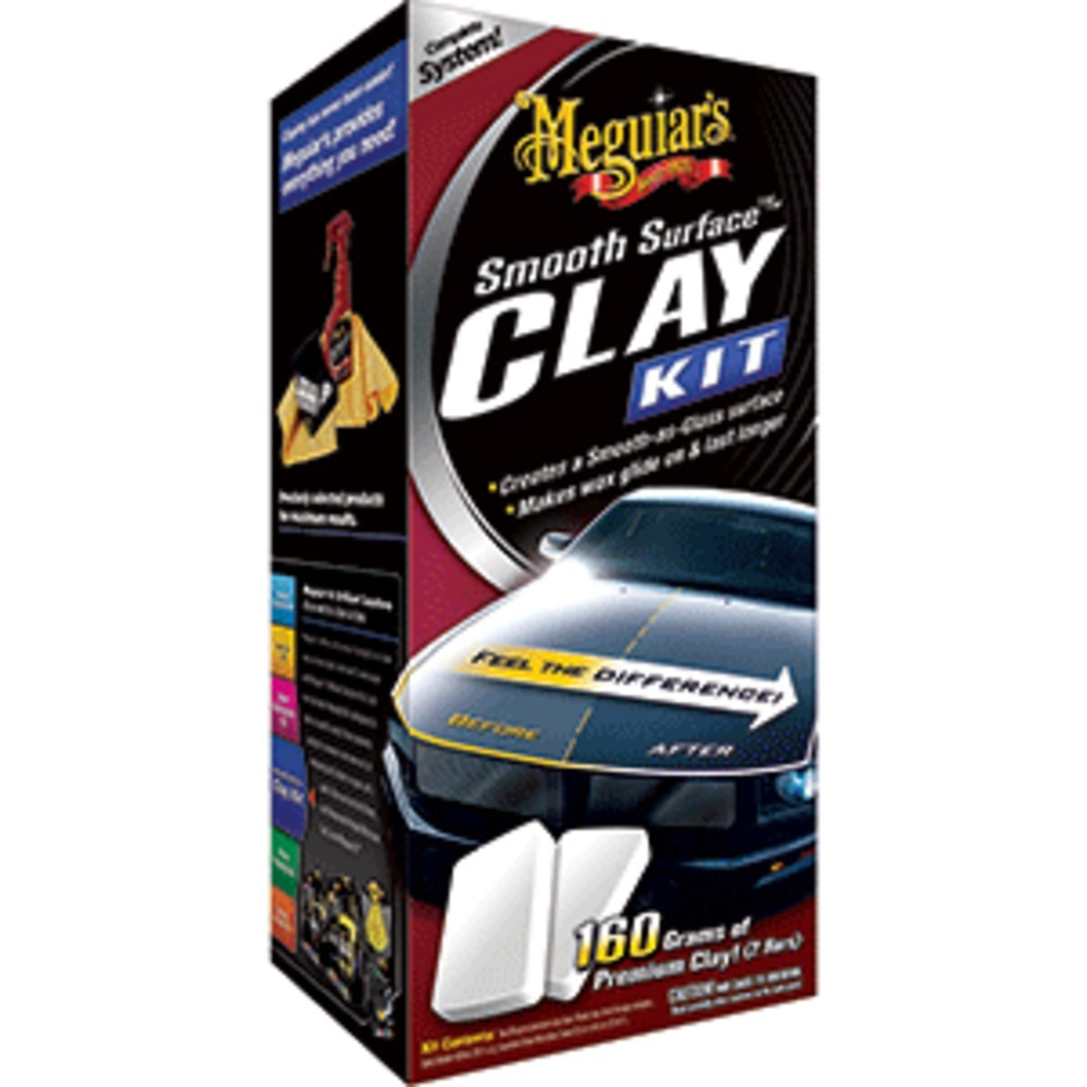 Meguiars Smooth Surface™ Clay Kit