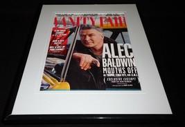 Alec Baldwin Framed 11x14 ORIGINAL 2017 Vanity Fair Magazine Cover  - $22.55
