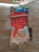 Disney Moana Size 4-6x Adventure Outfit - Gold - $17.81