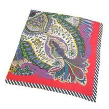 HERMES Carre 140 Le Jardin de la Maharani Recadre Cashmere Silk Multicol... - $925.00