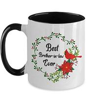 An item in the Home & Garden category: Christmas Vacation Mug for Brother-in-law Cardinals Xmas Coffee Cup 11oz Two Ton