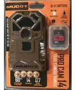 Muddy Pro-Cam 14 Trail Camera with SD Card and Batteries – 14MP - $80.00