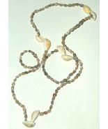 "BIG 34"" Hawaiian Style Authentic Mixed Sea Shell Necklace Free Shipping USA - $11.94"