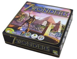 Asmodee Repos Production 7 WONDERS Card Development Board Game 2015 - $29.99