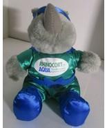 Rhinocort Allergy Spray Aqua Plush Stuffed Rhino  - $14.84