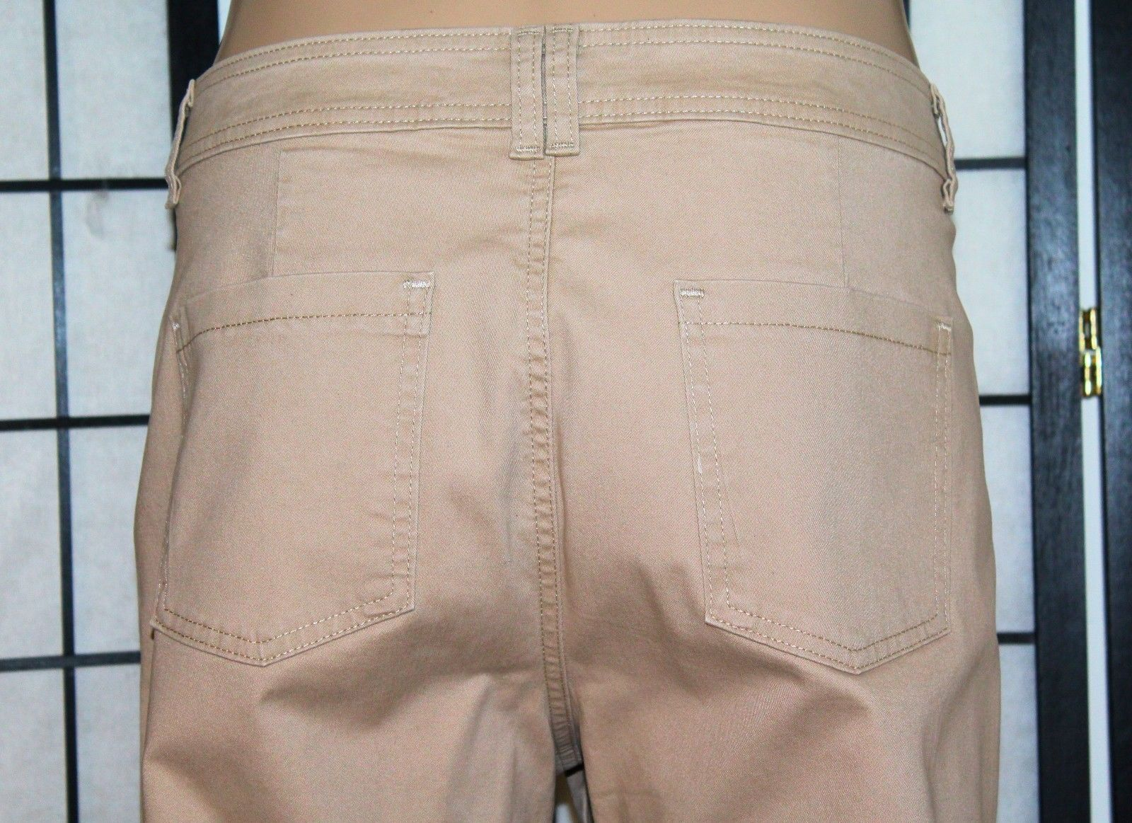 "LEE Classic Fit Women's Size 16 P Petite Straight Leg Stretch Pants 28"" Inseam"