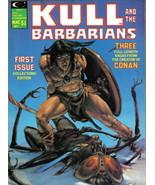 Kull and the Barbarians #1, Marvel Magazine 1975 NEAR MINT - $30.83
