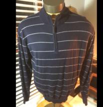 Bryon Nelson Cotton Blend Golf Sweater Mens Large Long Sleeve SZ L - $22.79