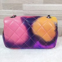 AUTHNTIC CHANEL LIMITED EDITION LAMBSKIN QUIILTED MINI FLOWER POWER FLAP BAG image 4