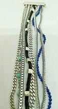 Lucky Brand Silver Tone Multi Chain Magnetic Bracelet - $13.99