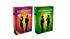 Codenames bundle Set with Codenames and Codenames Duet by Czech Games 2 ... - $47.75