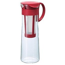 Brand New Hario Mizudashi Cold Brew Iced Coffee Pot/Maker (1000ml, Red) - €41,61 EUR