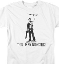 Army of Darkness This..Is My Broomstick Horror 80s Movie Retro T-shirt MGM165 image 2