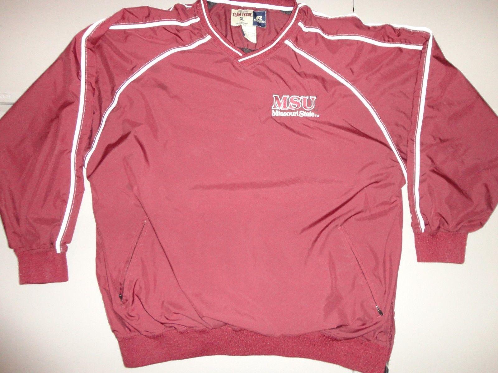 Primary image for  NCAA TEAM ISSUE Missouri State University Bears  Sewn V neck Jacket Adult XL