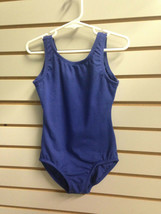 Body Wrappers BWC115 Girl's 12-14 (Fits 8-10) Dark Blue Tank Ballet Cut Leotard - $9.99