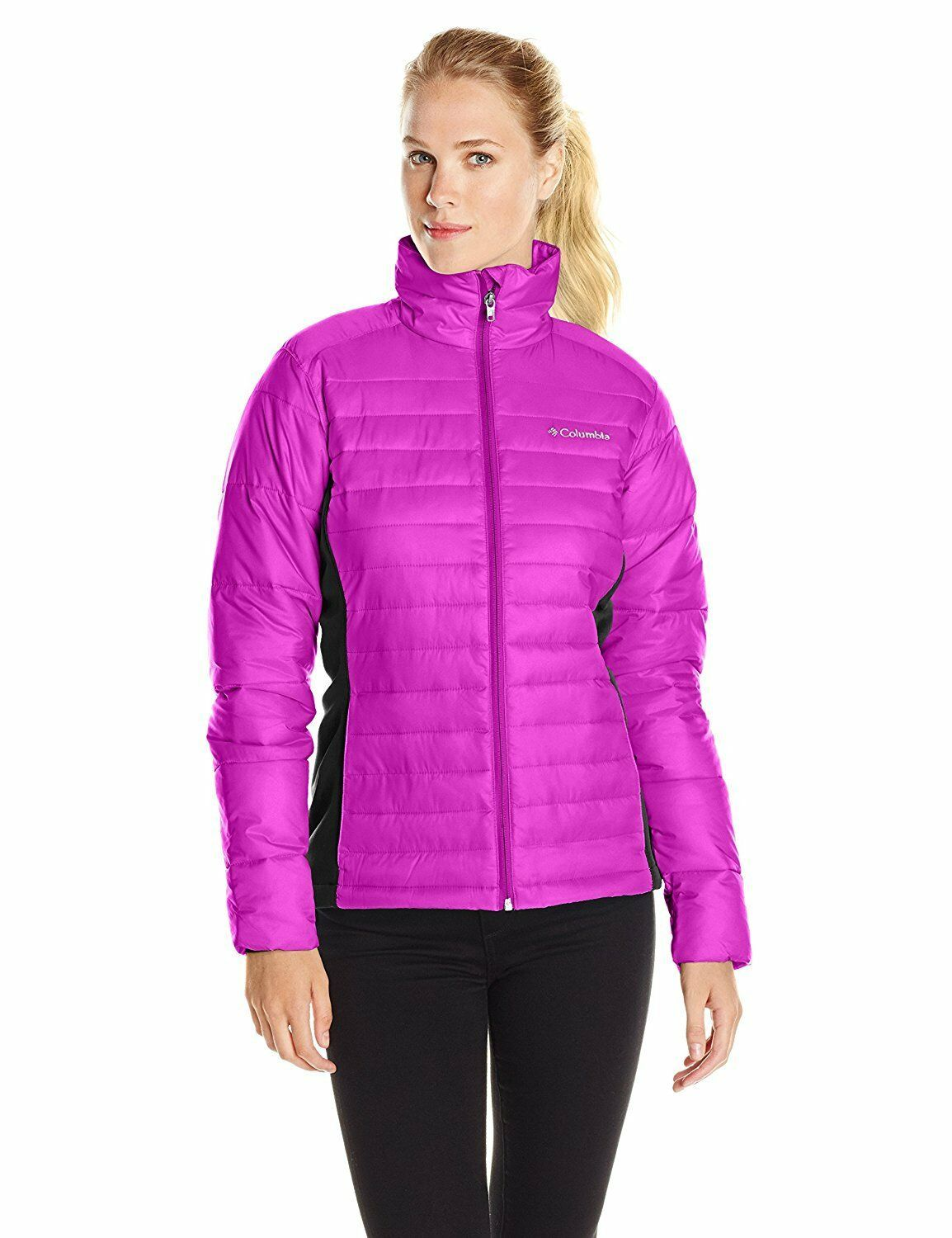Columbia Women's Plus-Size Powder Pillow Hybrid Jacket M 2X