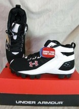 Under Armour Yard Ii Jr Rm Youth Baseball Cleats BLACK/WHITE - $24.99
