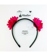 New Disney Parks Girls Mickey Mouse Ears Headband Pink Disney World Disn... - $14.99