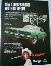 Dodge Fever Charger Chrysler Magazine Advertising Print Ad Art 1969 - $5.99