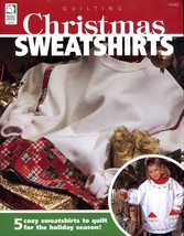Christmas Sweatshirts 5 Designs HoWB #141263 Quilting Pattern Booklet NEW - $4.47