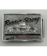 Snap-On Tools Belt Buckle Vintage Runnin' Strong With Team Snap On SSX-1... - $28.45