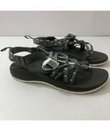 CHACO J180073 ZX/1 Classic Diamond Gray Sandals Womens Size 6 - $54.40