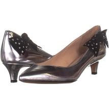 Marc Jacobs Ally Kitten Heels 185, Silver, 7.5 US / 37.5 EU - $146.87