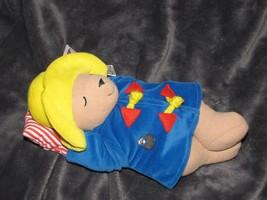 "Eden Musical Paddington Bear Stuffed Plush 11"" Brahm's Lullaby Wind Up Baby Toy - $79.19"