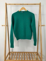 VTG Polo Ralph Lauren Men's Pony 100% Wool Teal Crewneck Pullover Sweate... - $25.17