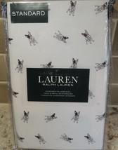 RALPH LAUREN French Bulldog Frenchie Pillowcases Standard Set NWT - $28.66