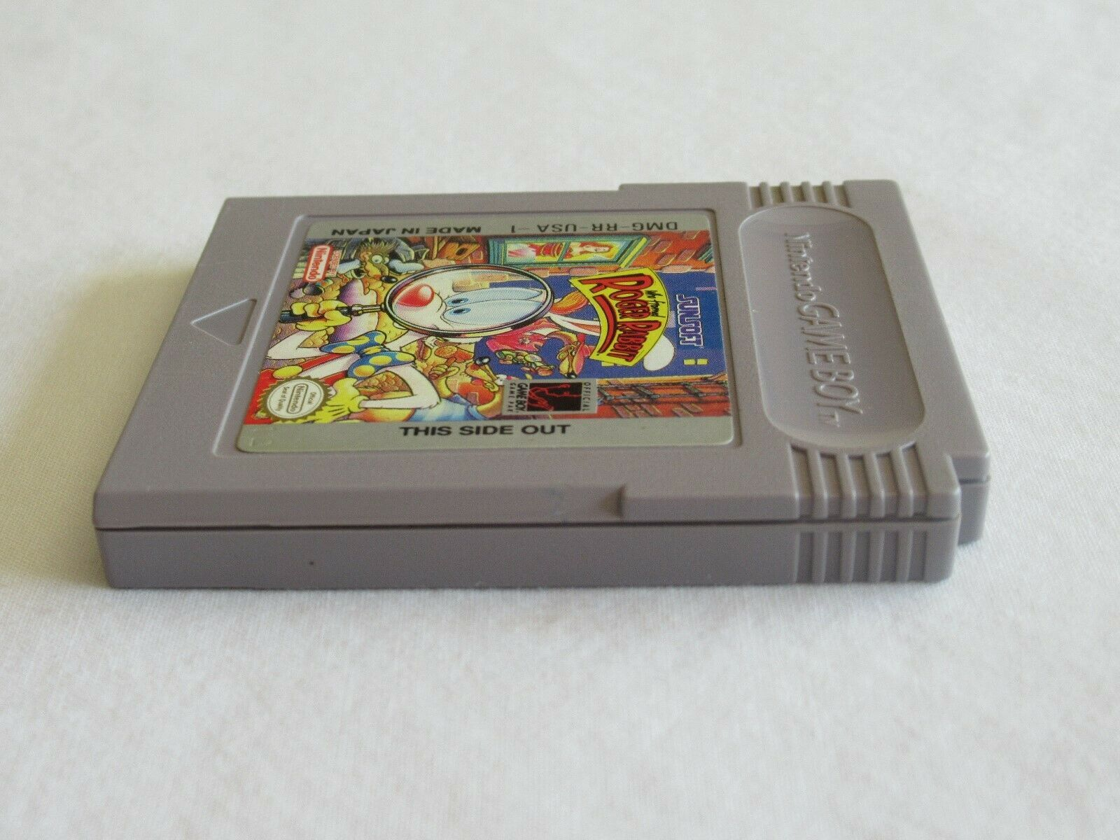 Who Framed Roger Rabbit (Nintendo Game Boy, 1991) Tested and Works image 5