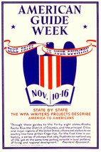 Americans described POSTER.Patriot guide week.Take pride in country.Hist... - $10.89+