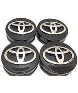 "4 pcs, Toyota, Wheel Center, Hub Cap, Black, 62 MM, 2.44"", Camry Corolla... - $18.69"