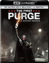 The First Purge (4K Ultra HD + Blu-Ray + Digital)