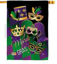 Ornament Collection H192056-BO Mardi Gras Spring Impressions Decorative ... - $36.08