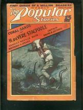 Popular Magazine PULP-11/19/27-OCTOPUS Attack COVER-HOT Vg+ - $151.32